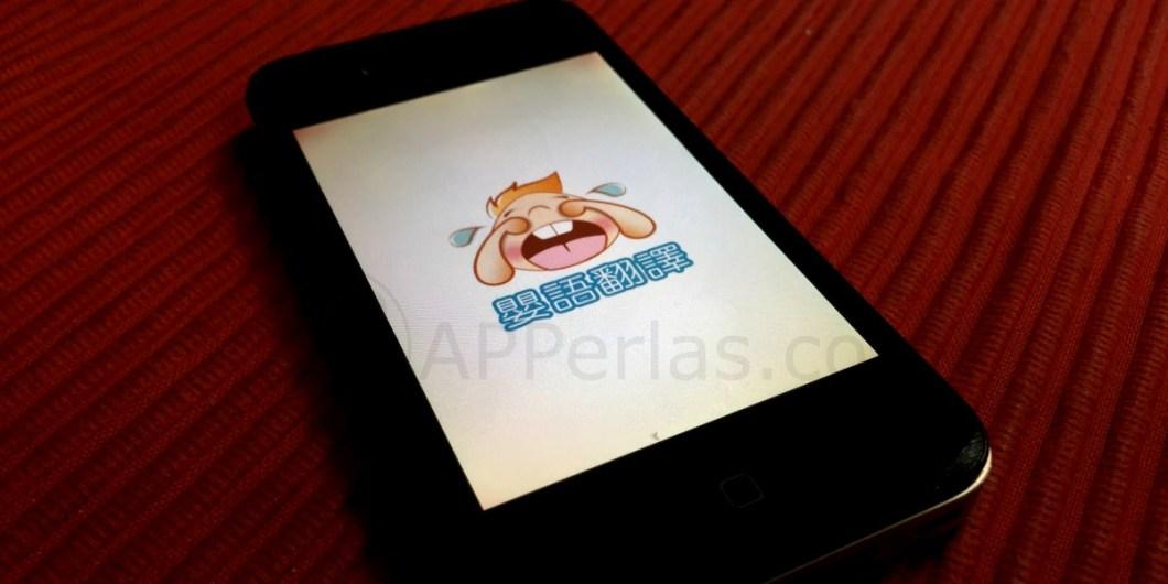 app traducir el llanto de un bebé iPhone
