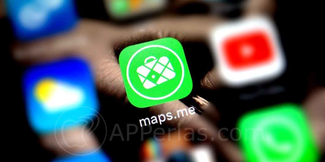 app de mapas Maps.me