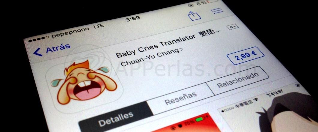 App para traducir el llando de un bebe