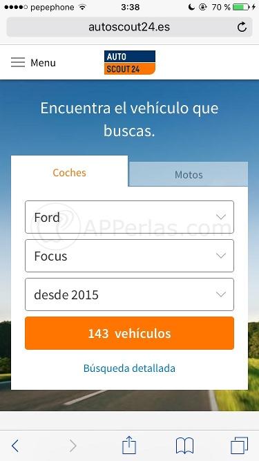 Autoscout24 web app