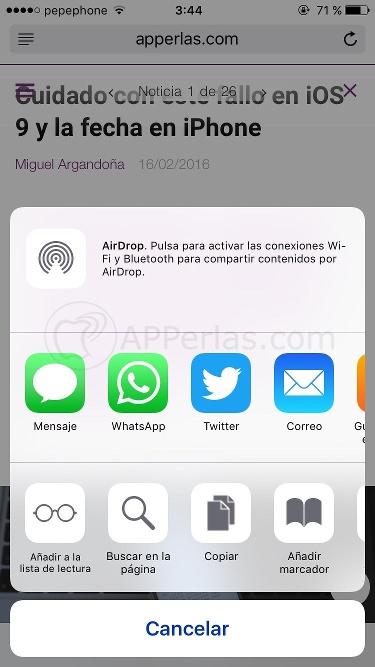 Buscar una palabra iOS