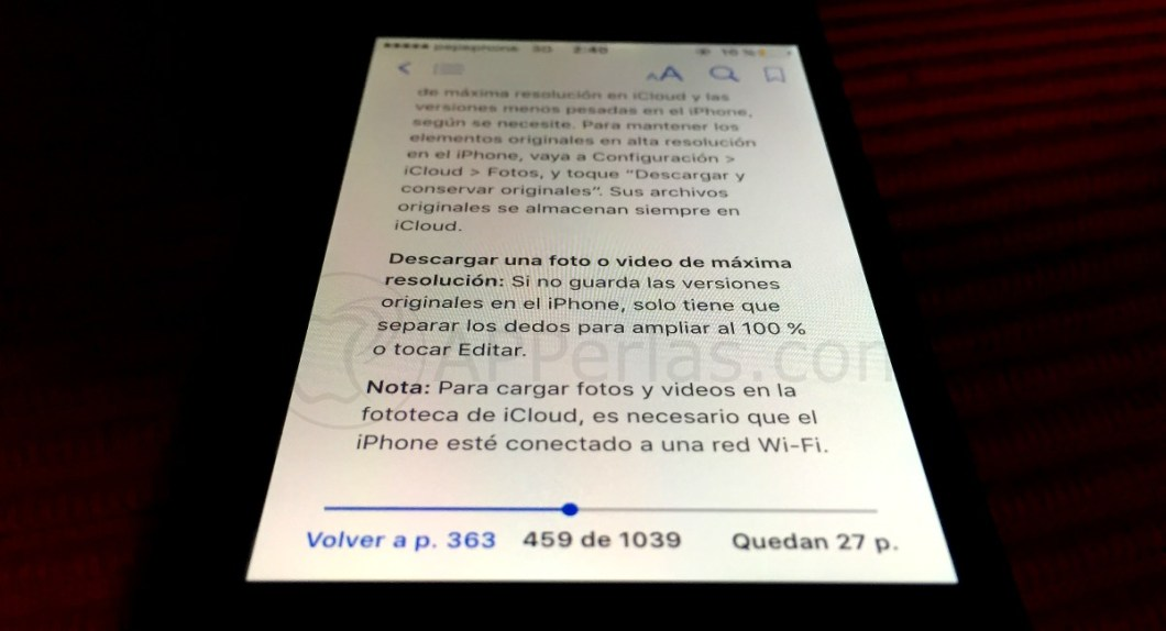 Manual de iPhone y iPad