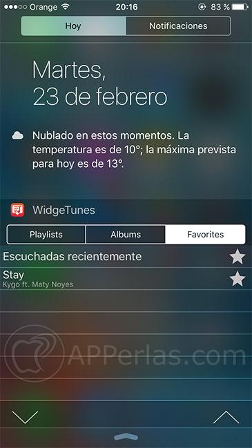 WidgeTunes 2