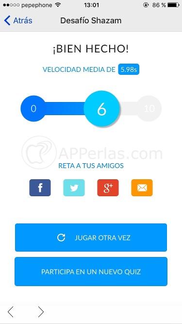 Juegos de Shazam iPhone