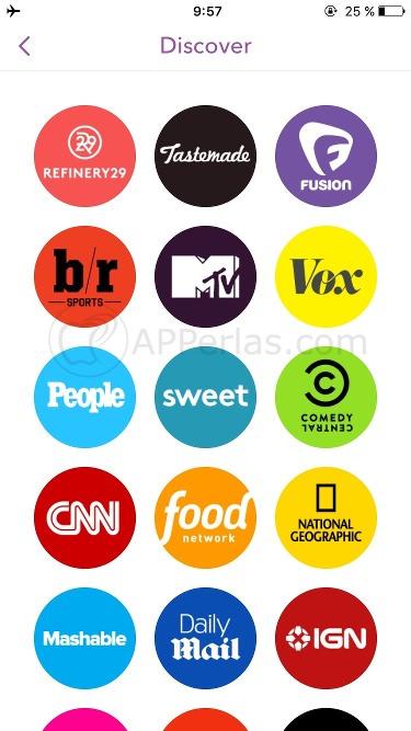 Guía de Snapchat 4