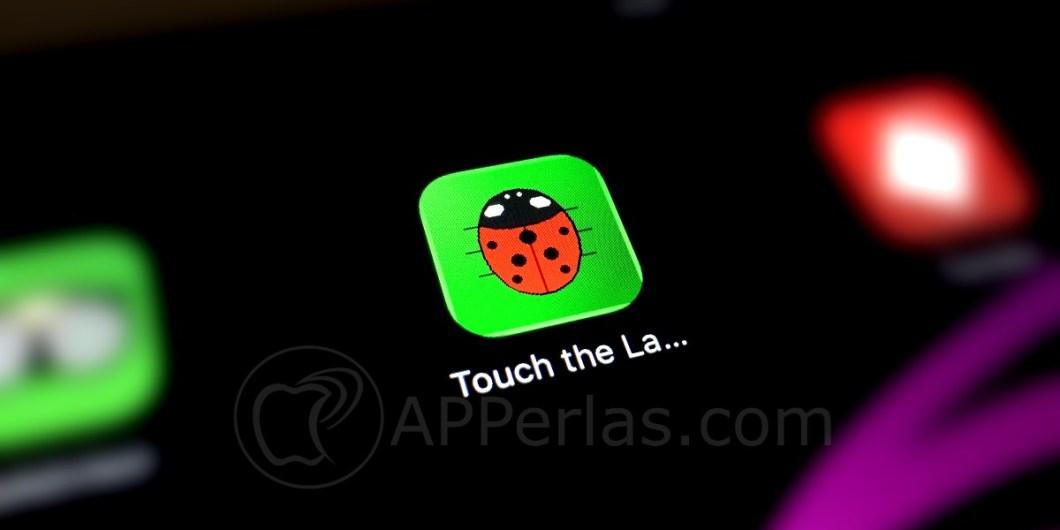 Tocar mariquita App para bebés