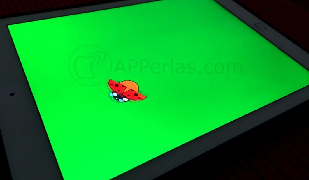 App para bebés Tocar mariquita