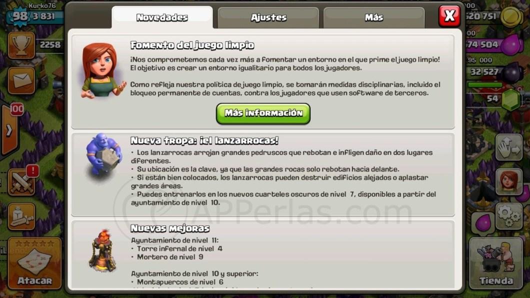 Clash of clans iPhone