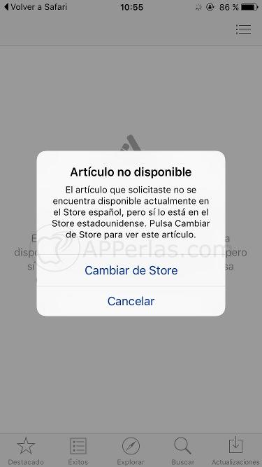App Store de EE.UU. 3