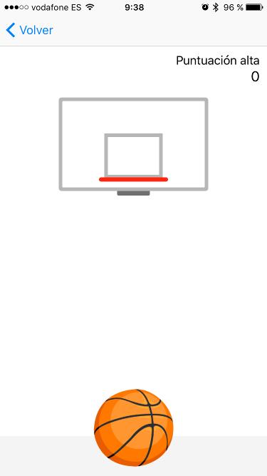 baloncesto desde Facebook Messenger 2