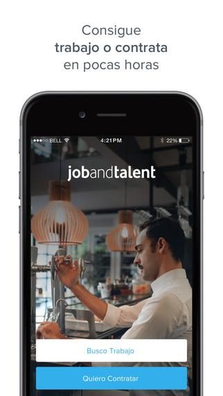 Jobandtalent app para buscar trabajo