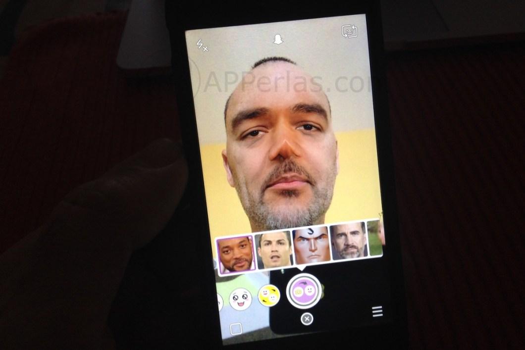 Snapchat cara 2