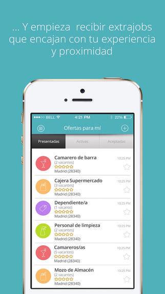 Worktoday app para buscar trabajo