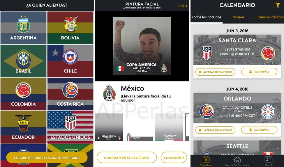 Copa américa 2016 amante del deporte