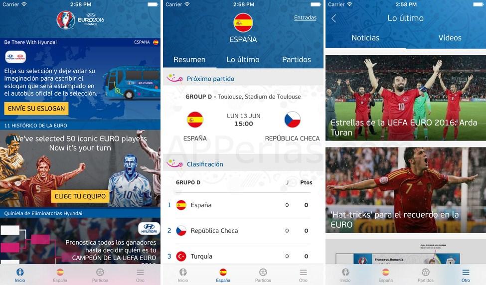 Eurocopa 2016 amante del deporte