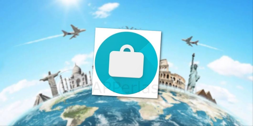 Google trips icono app