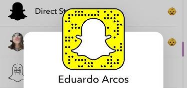 Eduardo arcos snapchat en español