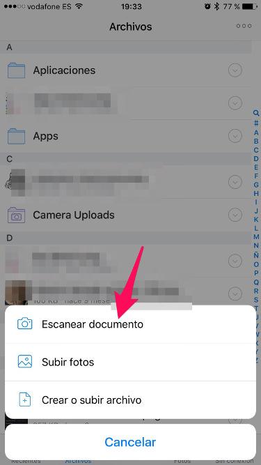documentos con Dropbox 1