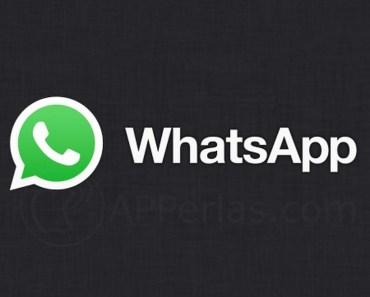 Aquí novedades Whatsapp
