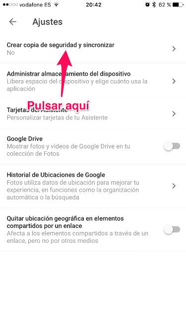 fotos en Google Fotos 2