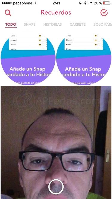 Recuerdos de snapchat 3