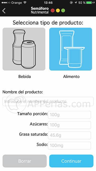 Semaforo nutrimental 2