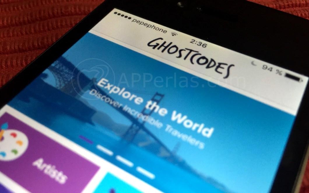 Ghostcodes iPhone