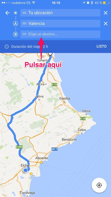 ruta con Google Maps 3