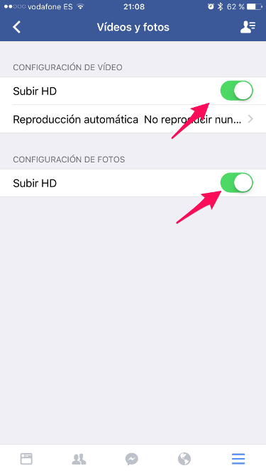 HD a Facebook 2