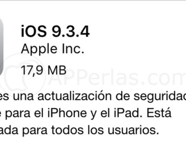 iOS 9.3.4 iPhone iPad