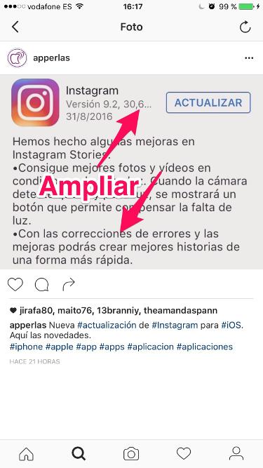 zoom en Instagram 1