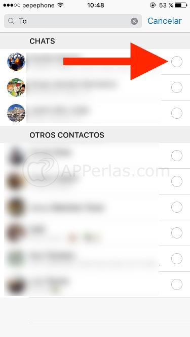 Reenvios en Whatsapp 2.16.10