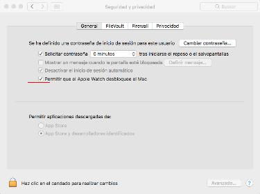 Mac con el Apple Watch 1