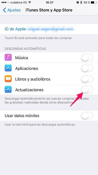 batería en iOS 10 2