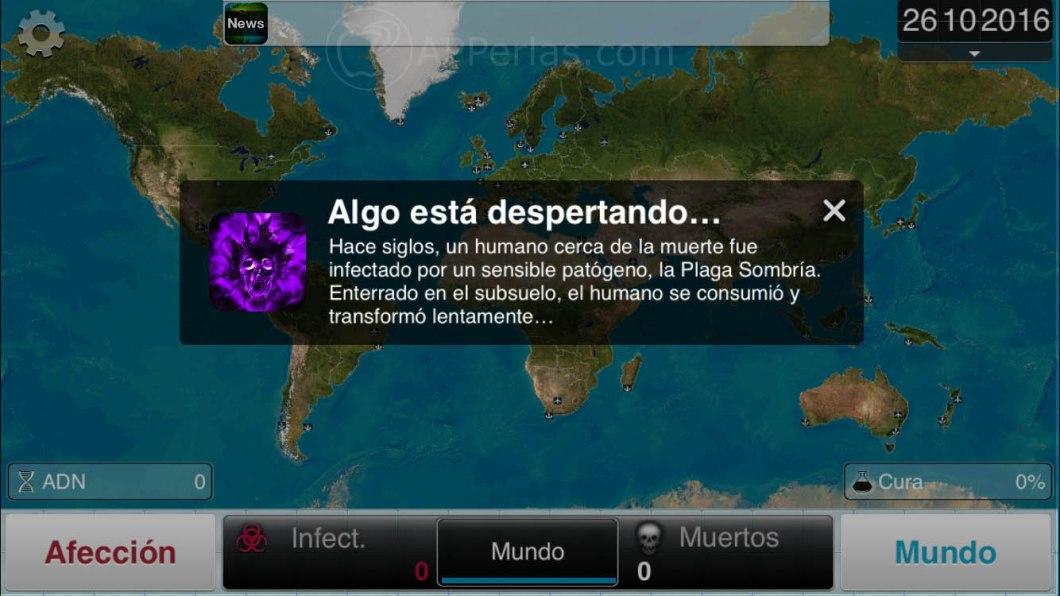 actualización del juego Plague Inc 2