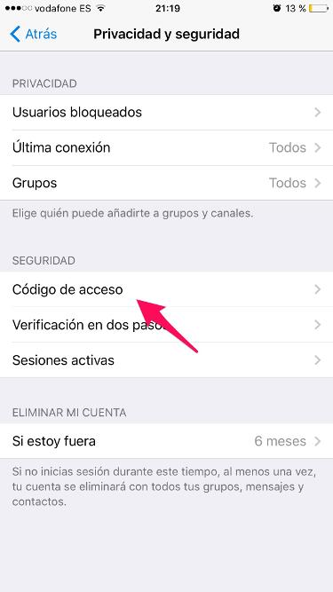 bloqueo en Telegram 1