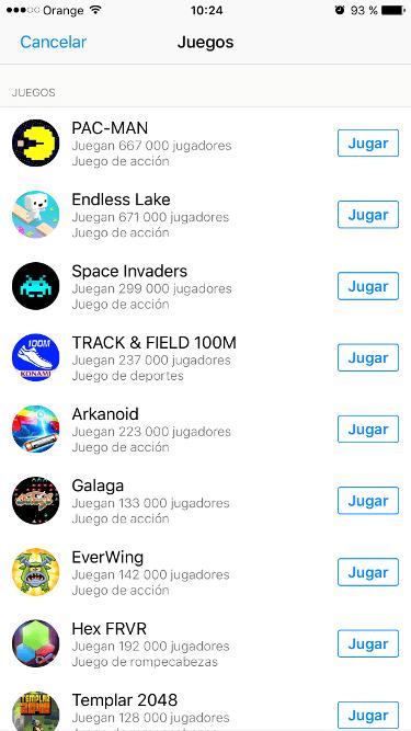 juegos de Facebook Messenger 3