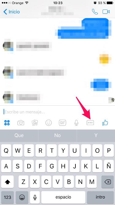 juegos de Facebook Messenger 1