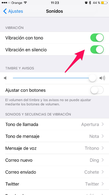 ahorrar batería en iPhone