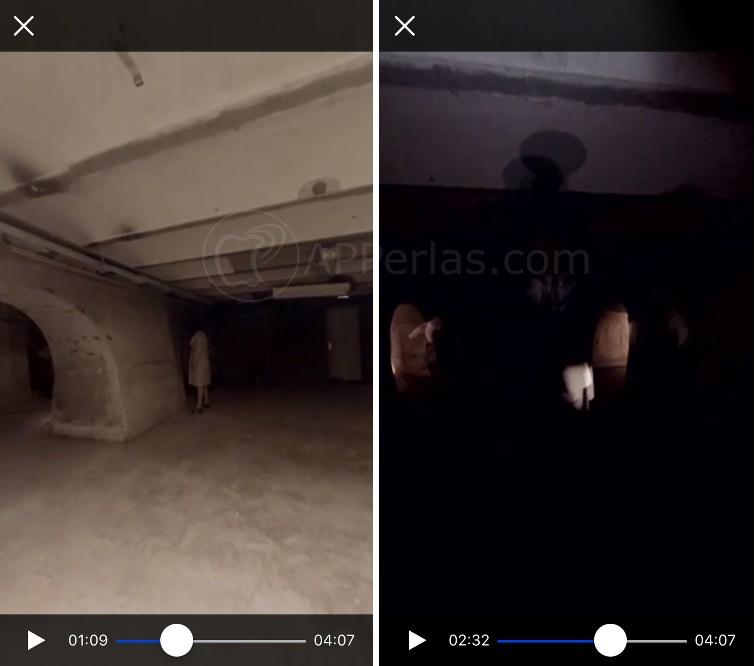 App de terror secuencia de vídeo