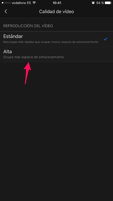 Netflix en alta definición 2