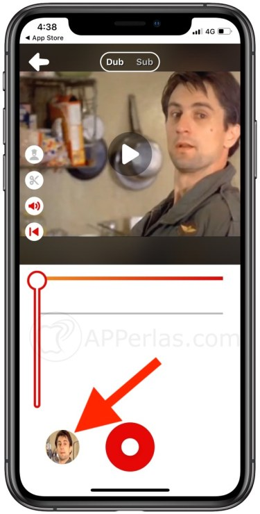 Desactiva la voz original del vídeo