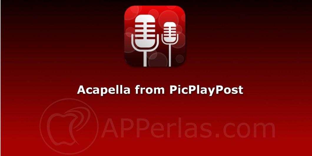 Acapella una app para componer canciones