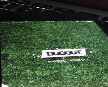 Dugout, la aplicación de información y noticias sobre fútbol