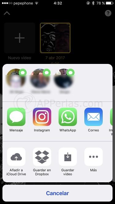 App de apple CLIPS