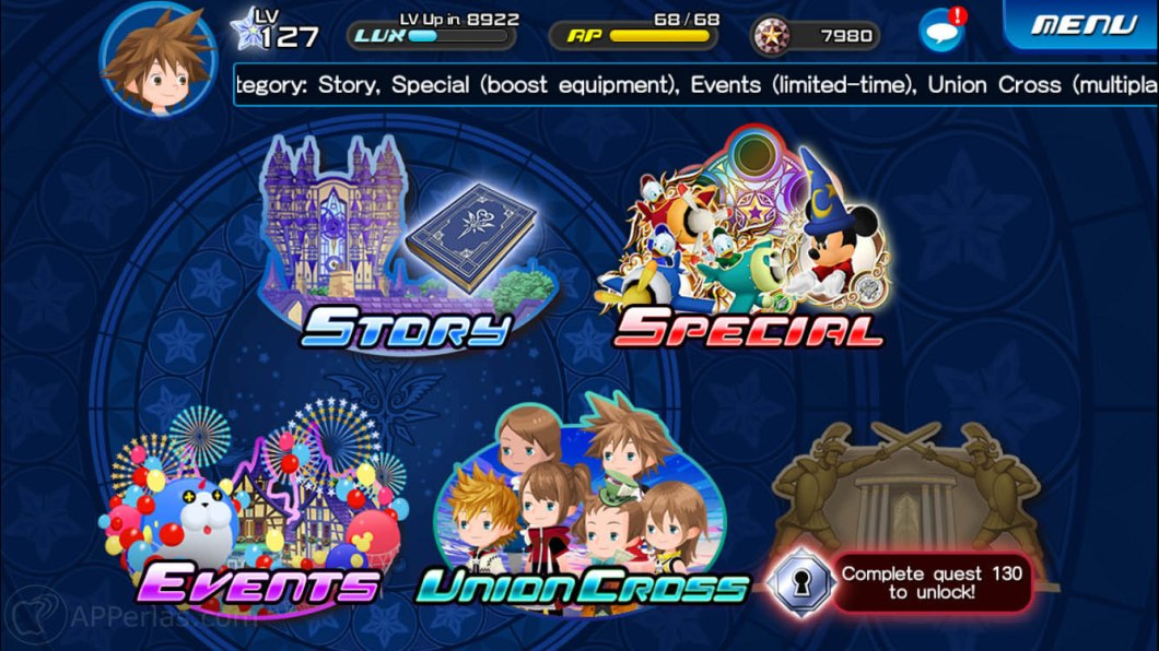 Kingdom Hearts Union X 2