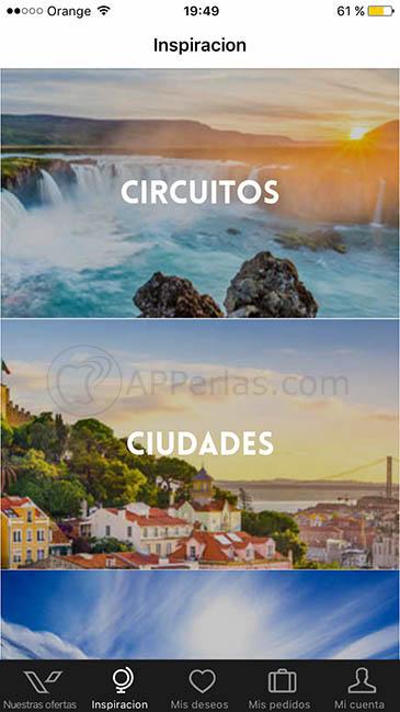 app para encontrar viajes baratos ios 3