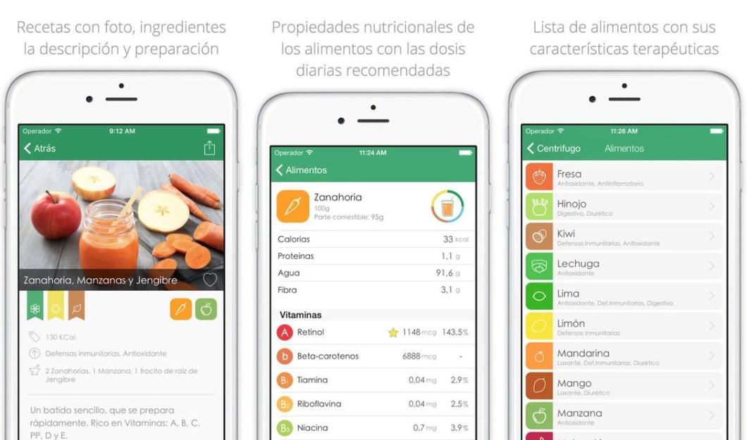 Apps para cocinar recetas saludables y fáciles