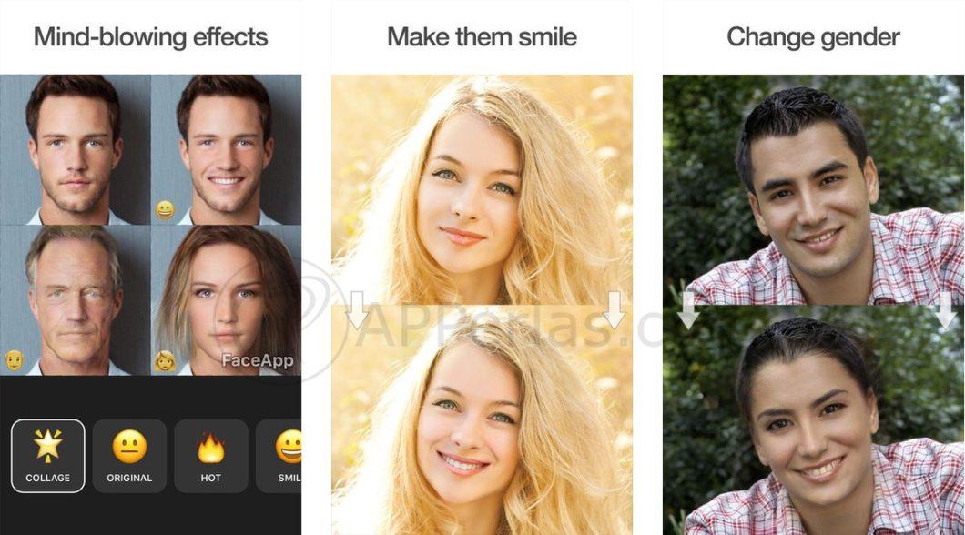 Faceapp una de las mejores apps de 2017