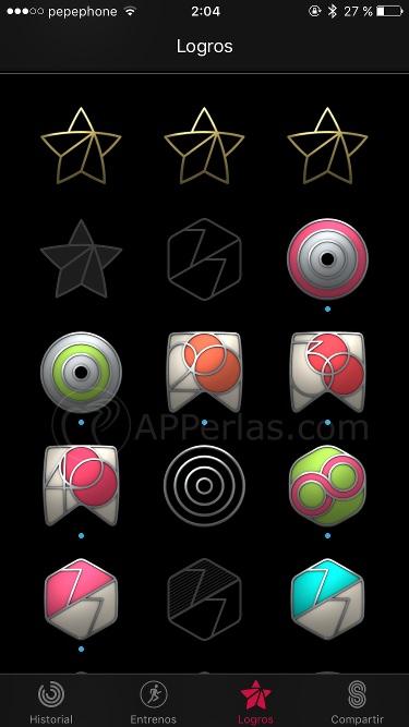 Logros Apple Watch